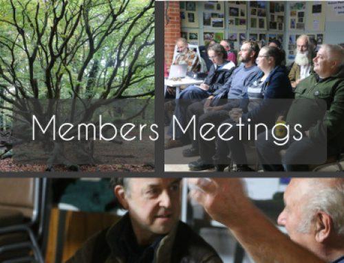 News: 2020 Dates for Members Meetings