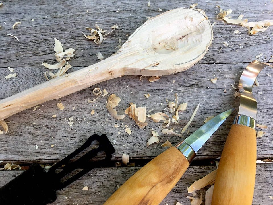 Spoon carving course SSCG